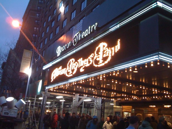The Beacon Theatre welcomes the Allman Brothers Band.